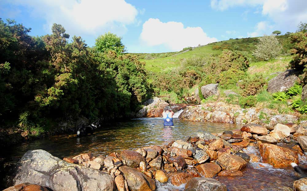 Meldon pools, Dartmoor