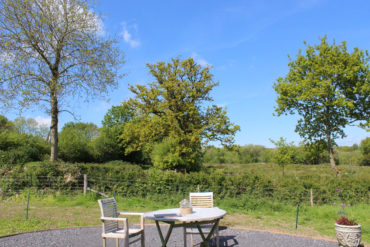 Blackdown Glamping - outdoor seating