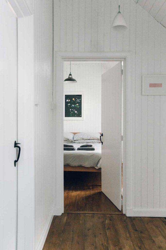 Isle of Skye Retreat - view into bedroom