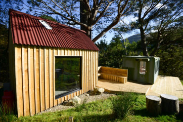 The bothy at Loch Lomond Escape