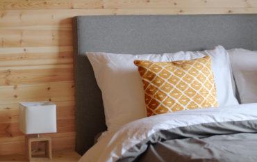 Seaview Cabin Penzance - bedroom