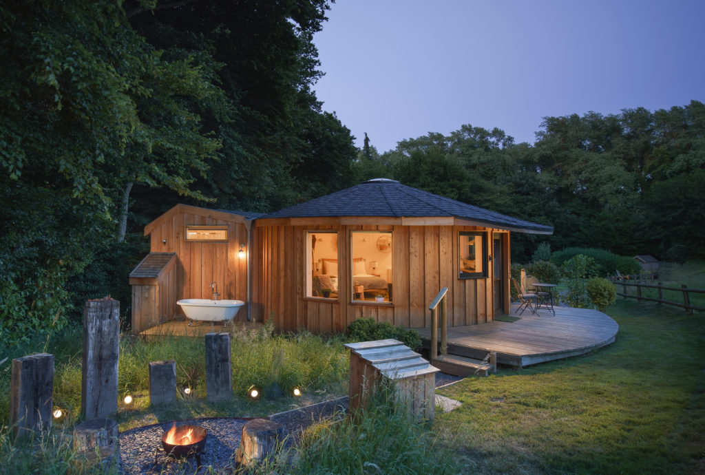 Boutique Glamping Somerset - Roundhouse