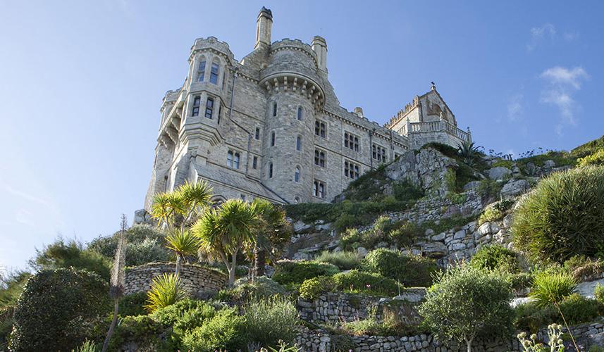 Castle at St Michael's Mount