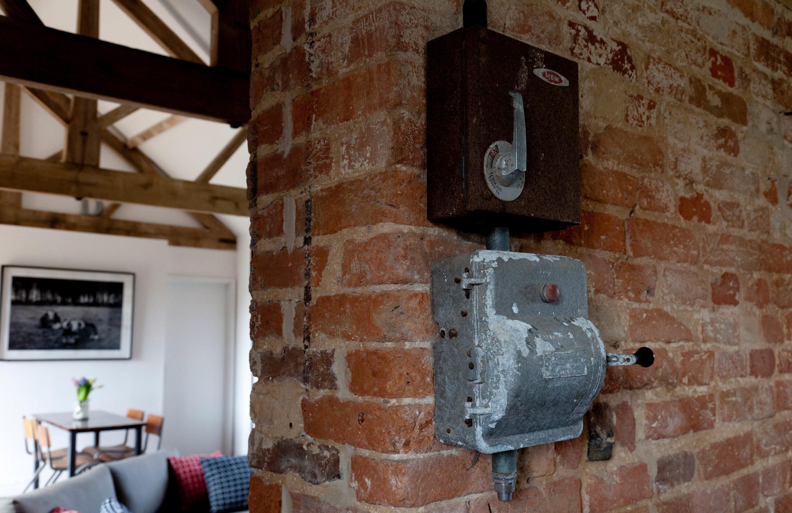 Little Westacre Barn - detail