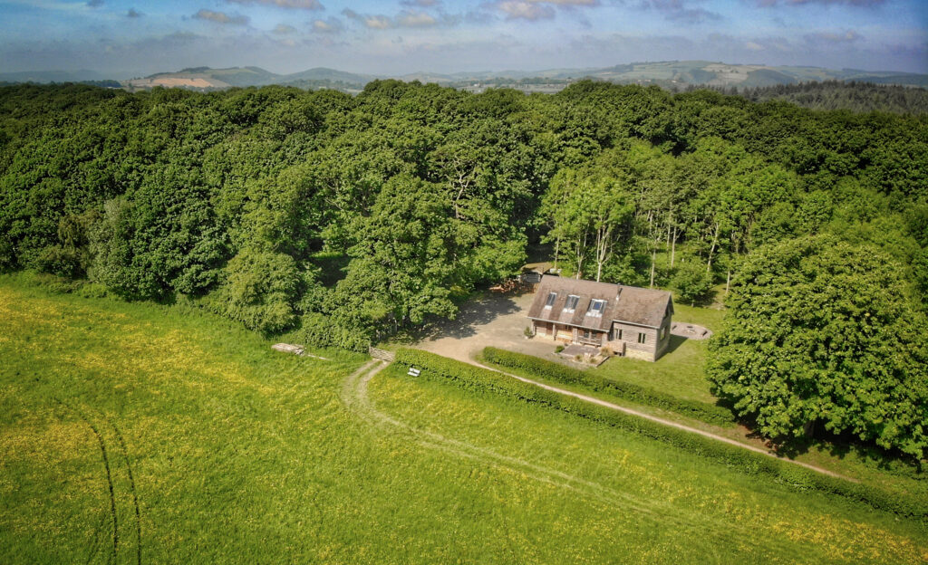 Herefordshire Log Cabin